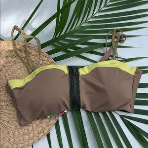 Maaji 🏝 bandeau bikini top - reversible